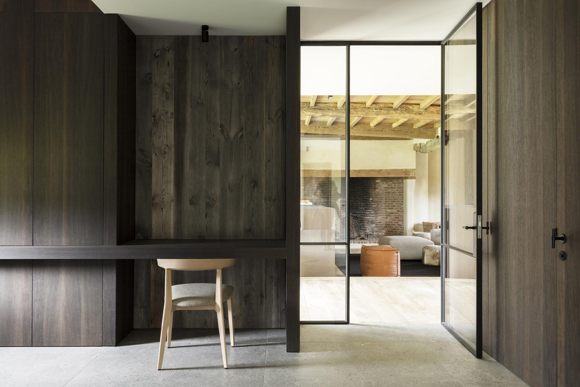 Stalen binnendeuren | Juma architechts | foto's (c) Annick Vernimmen